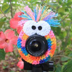 Manny the Monster Lens Buddy, A Photographers Best Friend. $15.99, via Etsy.