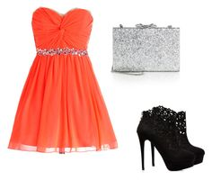 """Untitled #62"" by musicheartbeatjj ❤ liked on Polyvore featuring Forever New and Kate Spade"
