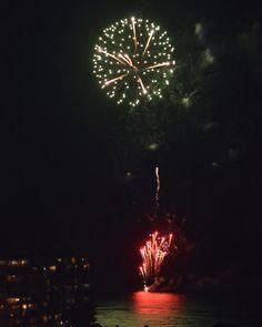 Fireworks at Waikiki.