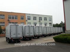 frozen food box ckd truck body panels/meat transport refrigerated truck body/mini van