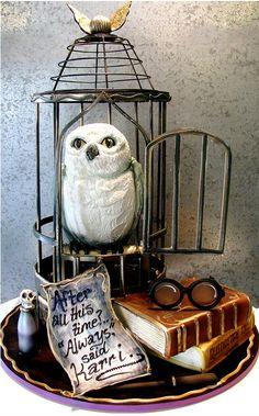 Nerd Da Hora - Bolos inspirados no universo de Harry Potter