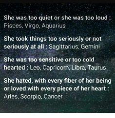 True horoscopes (in my opinion)