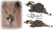 Victorian-Steampunk-Cogs-and-Gears-Statement-Necklace-Made-to-Order
