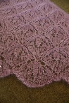 Ravelry: Project Gallery for Blooming Stitch Shawl pattern by Mary R. White