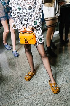 This Designer Was 100 Percent Serious When He Sent Crocs Down the Runway