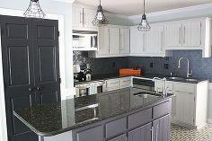 total kitchen transformation for under 700 part 1, diy, flooring, home decor, how to, kitchen backsplash, kitchen cabinets, kitchen design, kitchen island, painting, tile flooring