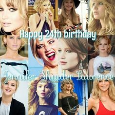 Jennifer Lawrence, Happy Birthday, oh my goodness gracious! I can't explain how much I admire you and how much I love you. You're my favorite actress in the whole world