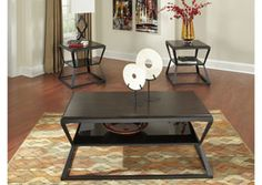 Soffiton Occasional Table Set (Cocktail