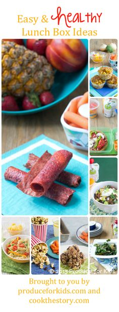 Healthy Kids Lunches and Snacks - Dietitian Approved