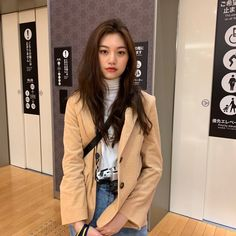 """you are a-dork(able), a talented idol, a gorgeous actress and model, and ofc our girl crush! Kpop Fashion, Korean Fashion, Fashion Outfits, Girl Fashion, Korean Girl, Asian Girl, Kim Doyeon, Mixed Girls, Soyeon"