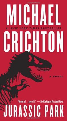Jurassic Park: Michael Crichton.  Great book, different but equally great as the 1990's feature film.