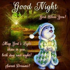 Good Night, sister God Bless You! Sweet Dreams