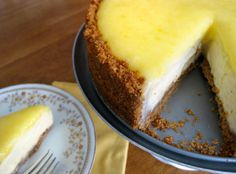 Glazed Lemon Cheesecake