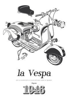 1946 Vespa