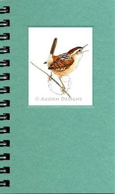 Marsh Wren Pocket Journal