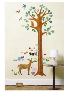 growth chart wall decal from target