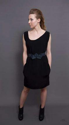 Little black dress.  Image: Tommi Kirvesniemi.