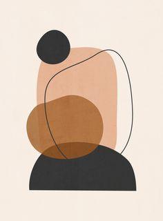 Minimal Abstract Art 12 Art Print
