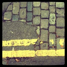 Cobbles Tarmacadam Paint - Clerkenwell Close, London EC1