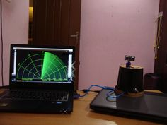 Awesome project: Arduino Radar with Processing by Akshay6766