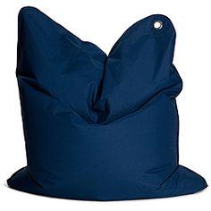 Sitting Bull Dark Blue Medium Bull Tween Bean Bag Chair - Overstock Shopping - Big Discounts on Sitting Bull USA Bean & Lounge Bags