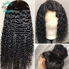 Curly 136 Lace Front Human Hair Wigs Preplucked Whole Front Bleached Knots With Baby Hair Remy Brazilian Hair Wig FlowerSeason Brazilian Lace Front Wigs, Brazilian Hair Wigs, Cheap Wigs, Quality Wigs, Human Hair Lace Wigs, Bleached Hair, Wigs For Black Women, Remy Hair, Hair Type