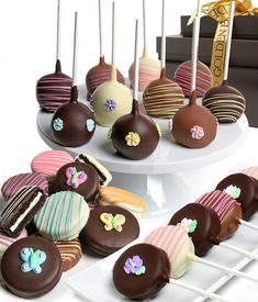 Mother's Day Basket of Chocolate Covered Treats