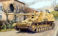 Las Cosicas del Panzer — Panzerjäger SdKfz164 Nashorn