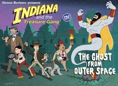 Hanna-Barbera's Indiana and the Treasure Gang Saturday morning cartoon