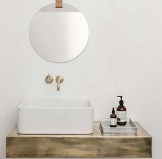 Aufgeräumt: Ordnung schaffen im kleinen Bad