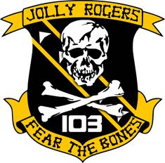 BSG VFS-103 Jolly Rogers Squadron Insignia by viperaviator