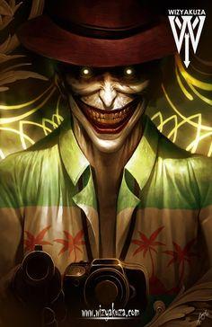 Killing Joke Joker by Wizyakuza Comic Book Characters, Comic Character, Comic Books Art, Comic Art, Harley Quinn Et Le Joker, Joker Dc, Arte Dc Comics, Batman Comics, Gotham Batman