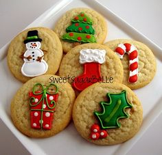 christmas #Decorated Cookies