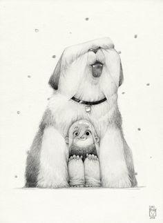 Blad Moran - Sketchtober | 014