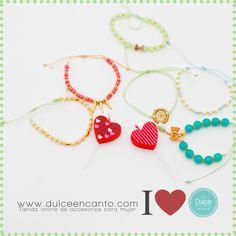 www.dulceencanto.com Tienda online de accesorios para mujer #accesorios #pulseras