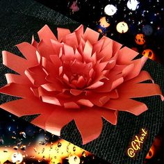 Giselle Style Paper Flower
