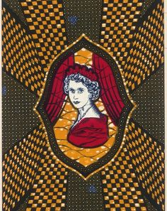 In 1956 Queen Elizabeth II of Great Britain visited the British colony of Nigeria. This pattern was put on the ...