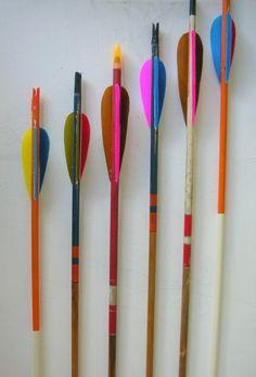 Coloful vintage arrows