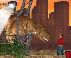 Katil dinozor Los Angeles şehrini birbirine katıyor. Eğer istersen dinozoru kontrol edip önünüze gelen herşeyi yakıp yıkabilir, acıkınca da birşeyler atıştırabilirsin. Dinazoru yön tuşları ve W,A,S,D tuşları ile yönlendirebilr. Mouse ile insanları yiyebilirsin. İyi eğlenceler..