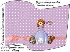 Princesa Sofía: tarjetería para imprimir gratis.