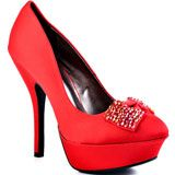 Just Fabulous's Red Malaika - Red for 59.99 direct from heels.com