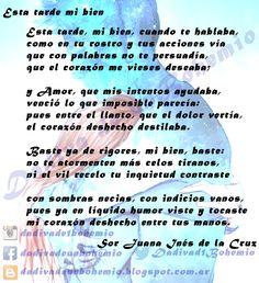 Esta tarde mi bien- Sor Juana Inés de la Cruz