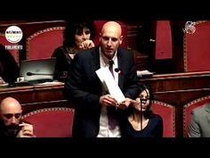 Carlo Martelli (M5S) Decreto salva banche in Senato - YouTube