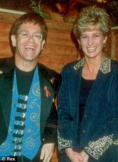 With Elton ca. 1993