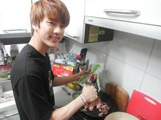 imagine jin cooking for you i the morning Seokjin, Namjoon, Jimin, Bts Jin, Bts Taehyung, Imagine Jin, Social Spirit, Kpop, Wattpad