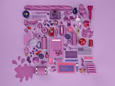 Radiant Orchid - Pantone Color of the Year 2014: - Color trends, color palettes , Pantone 18-3224 TCX.