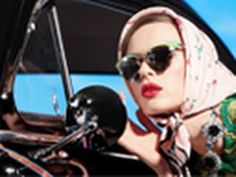 Prada's '50s Americana fantasy comes to life in this just-released Spring 2012 campaign video. Lensed by Steven Meisel, the video features models Natasha Poly, Ymre Stiekema, Katryn Kruger, Meghan Collison, Elise Crombez, and Guinevere van Seenus all dolled up and skulking about an old-school gas station