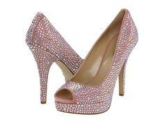 Enzo Angiolini Show You Medium Pink Fabric - 6pm.com