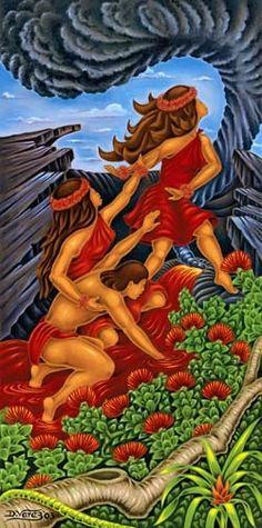 Hawaiian art - D. Varez