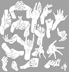Arm And Hand Reference Hand Drawing Reference, Drawing Reference Poses, Drawing Hands, Hand Drawings, Digital Art Tutorial, Anatomy Art, Drawing Base, Art Sketchbook, Drawing People